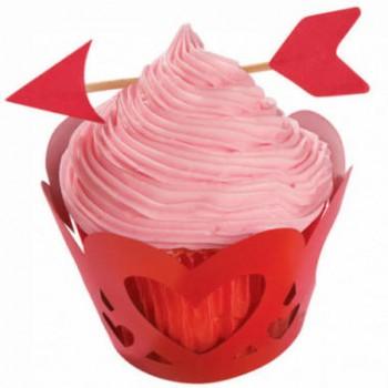 Wilton Valentine Cupcake Wraps'n Pix