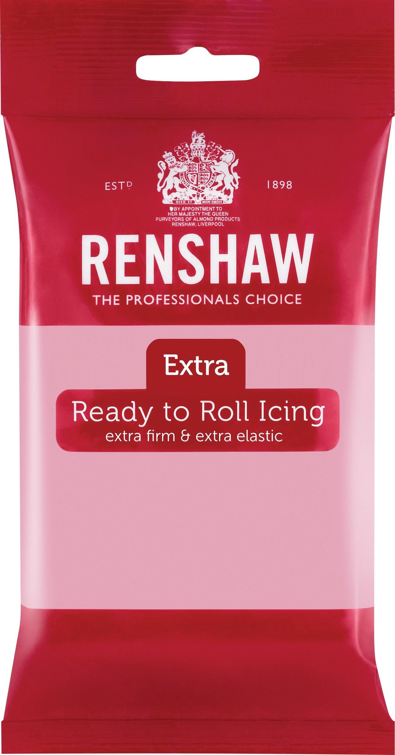 Renshaw Rolfondant Extra 250g -Pink-