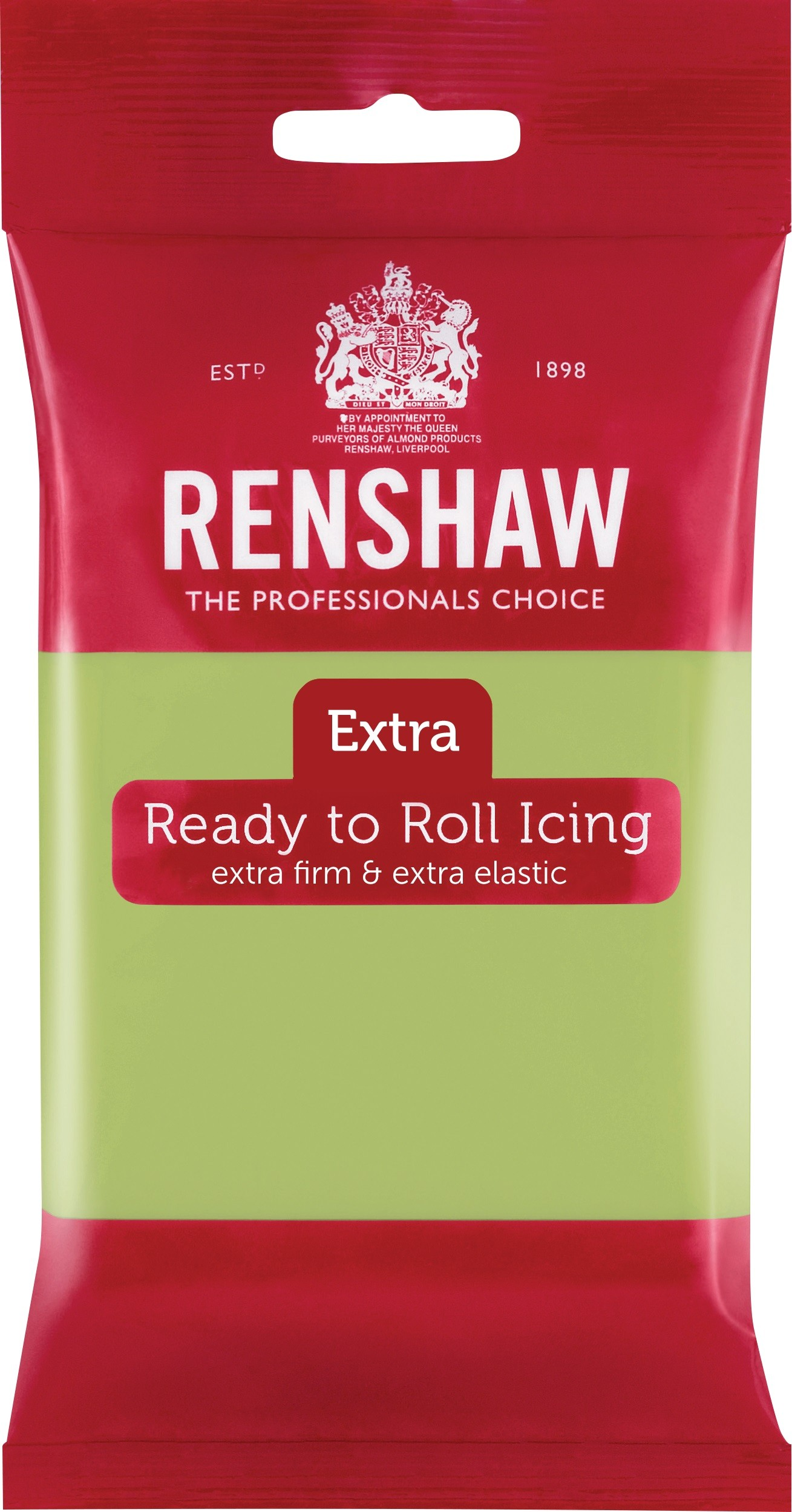 Renshaw Rolfondant Extra 250g -Pastel Green