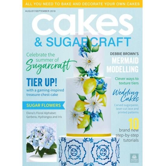 Cakes & Sugarcraft Magazine Augustus/September 2019