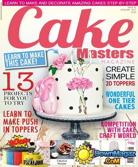 Cake Masters - January 2017