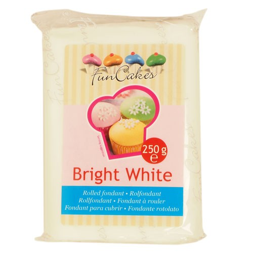 FunCakes Rolfondant -Bright White- 250g