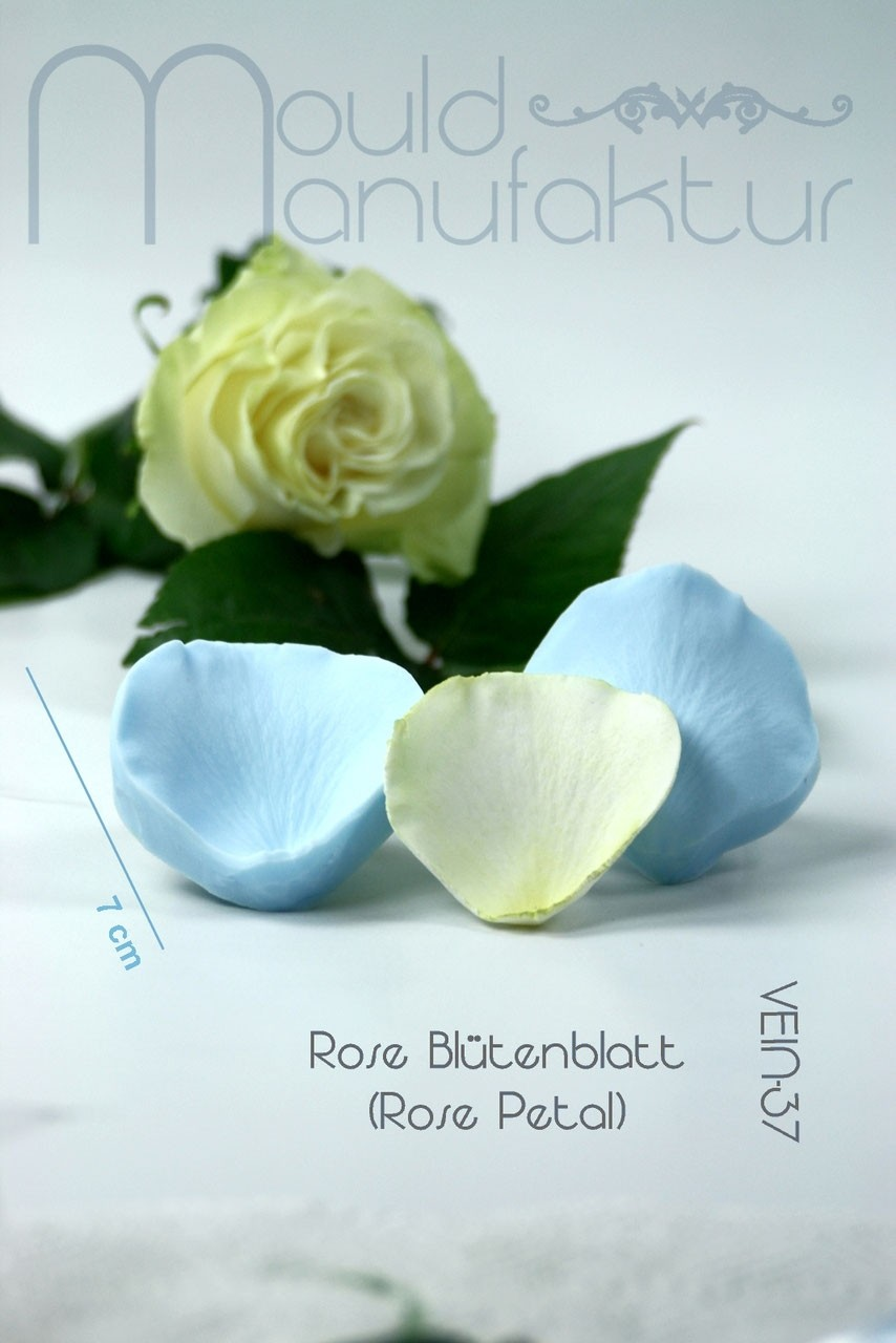 Mould Manufaktur Rose Petal M Veiner