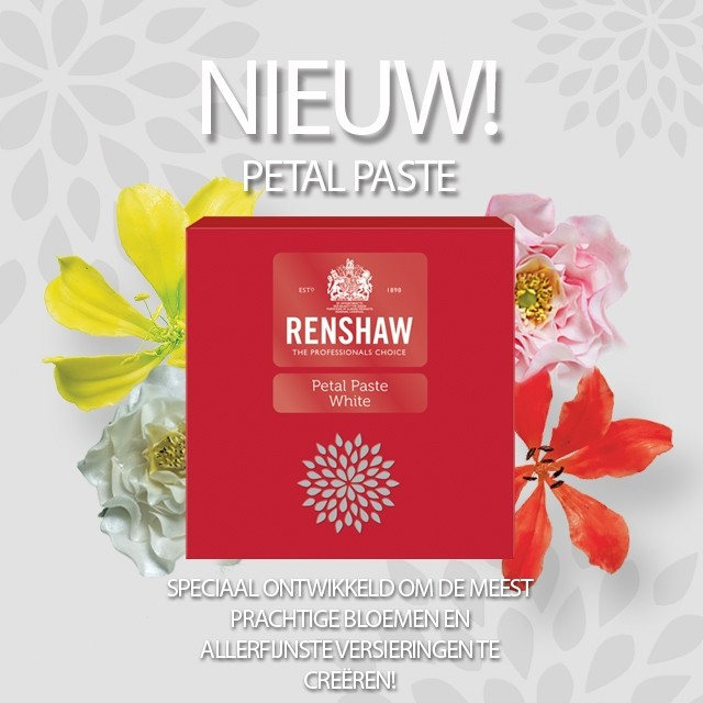 Renshaw Petal Paste 3 x 100g