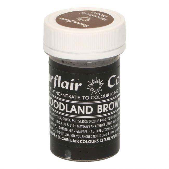 Sugarflair Pastel Woodland Brown