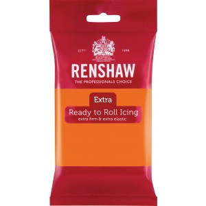 Renshaw Rolfondant Extra 250g -Orange-