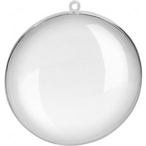 Acrylic Medallion Ø 11 cm transparant - Pre Order