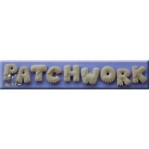 Alphabet Moulds Patchwork Font