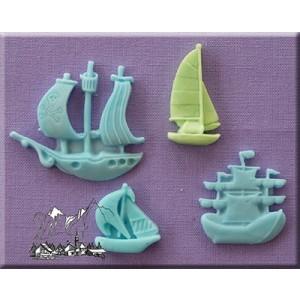 Alphabet Moulds - Ships & Boats