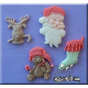 Alphabet Moulds Christmas