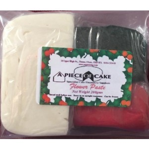 A Piece of Cake Flower Paste - Christmas Pack 200g