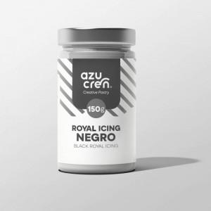 Azucren Royal Icing Black - 150gr
