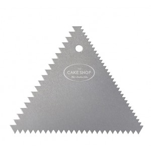 Bakery Crafts Aluminium Decorating Triangle