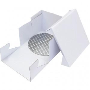 PME 28cm Round Cake Card and Cake Box