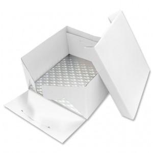 PME 33cm Square Cake Card and Cake Box