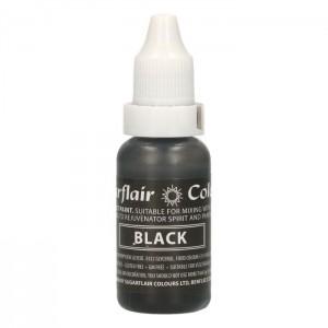 Sugarflair Edible Droplet Paint Black