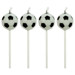 "PME Candles – Football Set of 4 (22mm / 0.9"")"