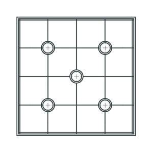 """CakeFrame 8""""square Platform pack by Dawn Butler"""