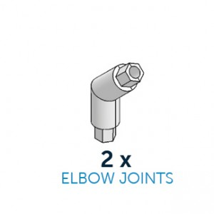 CakeFrame Elbow Joint Pack/2