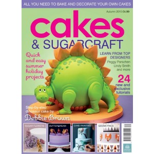 Cakes & Sugarcraft 130 - Autumn 2015