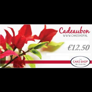Cadeaubon - €12.50