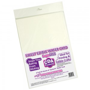 CDA Edible Wafer Card- pk6