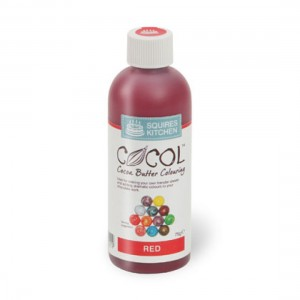 SK Professional COCOL Chocolate Colouring 75g Red