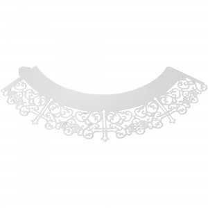 PME Cupcake wrappers Cross White