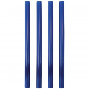 PME Plastic Dowel Rods Pk/4 Blue
