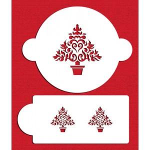 Designer Stencils Christmas Tree