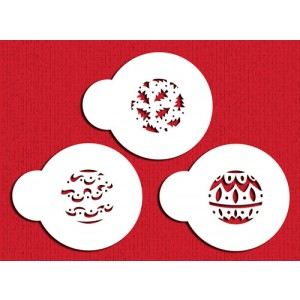Designer Stencils Mini Christmas Balls