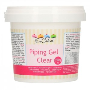 Funcakes Piping Gel Clear 350g
