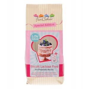 FunCakes Mix voor Biscuit Lactose Vrij - Low Sugar 500g
