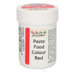 FunCakes FunColours Paste Food Colour - Red 30g