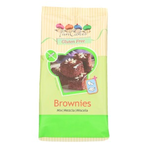 FunCakes Mix voor Brownies, Glutenvrij 500g