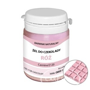 Food Colours - Gel for Chocolate - Pink