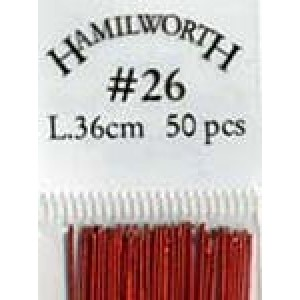 Flower wire Metallic Red 26g