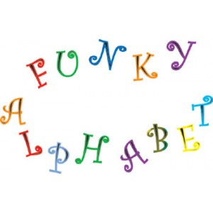 FMM Funky Alphabet & Numbers tappits