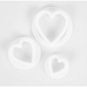 FMM Heart Cutters set/3
