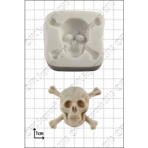 FPC Skull & Crossbones Silicone Mould
