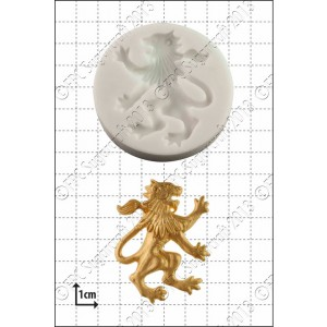 FPC Rampant Lion (Right) Silicone Mould