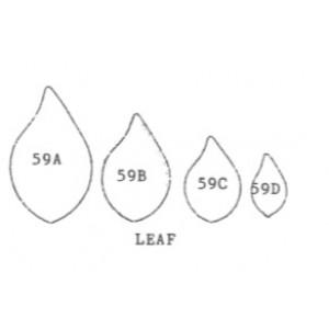 Framar Cutters - Leaf set/4 - small