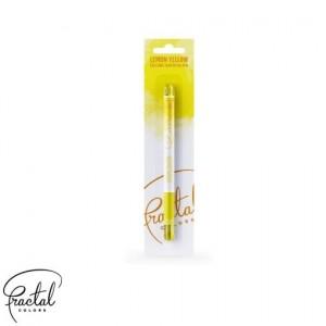 Fractal Colors - Calligra Food Brush Pen - Lemon Yellow