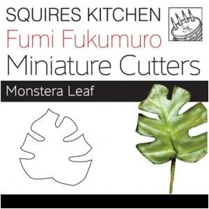 Fumi Fukumuro Miniature Monstera Leaf