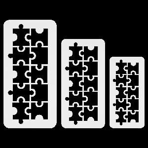 PME Geometric Multicutter - Puzzle set/3