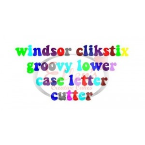 Groovy Lowercase Letters Clikstix