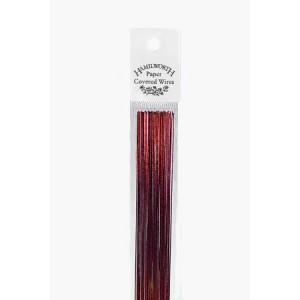 Flower wire Metallic Dark Red 26g