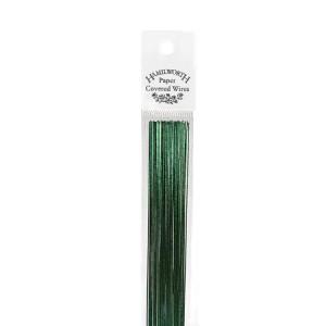 Flower wire Metallic Green 26g