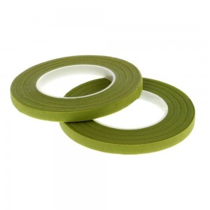 Hamilworth Floral Tape - 1/2 width Nile Green