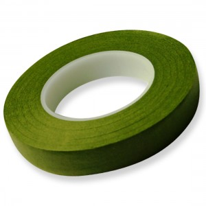 Hamilworth Floral Tape Moss Green